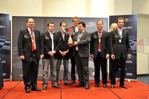 Germany - European Team Chess Champion 2011