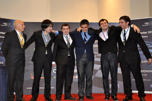 Silver medal (open section) -  Azerbaijan